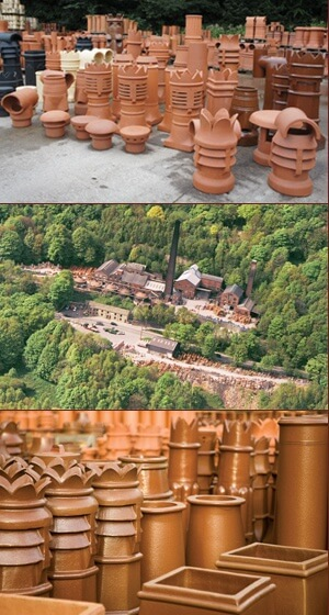W T Knowles Chimney Pots Image