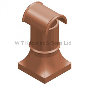 Scullery Hooded Pot - Clay Chimney pots digital representation