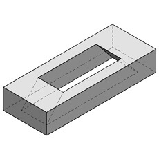 W T Knowles & Sons Ltd has a variety of Concrete Lintels available, such as the Spacer Lintel which is 1200mm Wide.