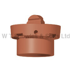 Bishop Blanking Vent - Clay Chimney pots, cowls and products