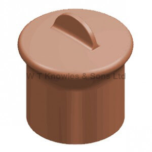 Bradford Windguard Blanking Plug - Clay Chimney pots and cowls