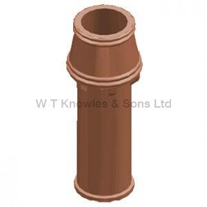 Carlisle Blowdown Pot or Barden Mill Pot - Clay Chimney pots