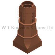 Halifax 3 Bowl Pot - Clay Chimney pots design