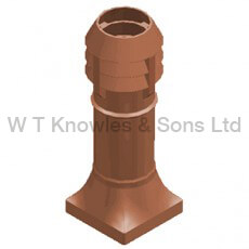 Leeds 3 bowl pot - Clay Chimney pot visual design