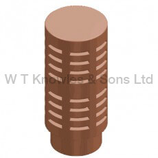 DFE Double Gas Terminal - Clay Chimney pots