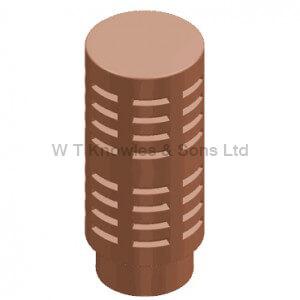 DFE Double Gas Terminal - Clay Chimney pots