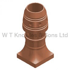 Southport Pot - Clay Chimney pots illustration design