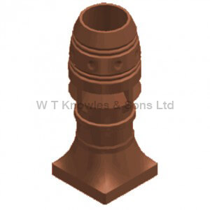 Southport with lift Pot - Clay Chimney pots illustration