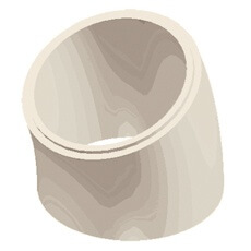 Flue Liner Bend illustration
