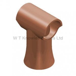 Decorative Fuel Effect Pot - Clay Chimney pots