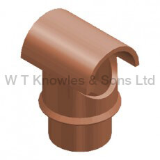 DFE Insert with Cut Out 205mm Spigot - Clay Chimney pot accessory