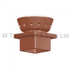 Flue Vent Square Base Flanged product