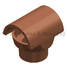 Bonnet Hood - Clay Chimney pots and accessories