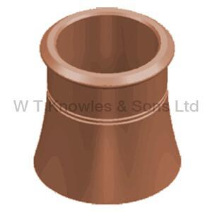 Cannon Head Pot - Clay Chimney pots