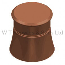 Cannon Head pot - Blanked Off Illustration