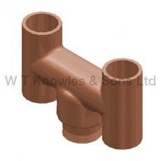 Push-In 'H' Pot - Clay Chimney pots