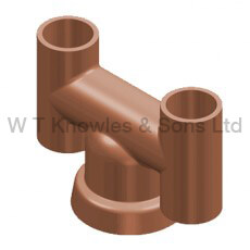 Push-On 'H' Pot illustration - Clay Chimney pots