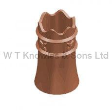 Rook Pot digital illustration - Clay Chimney pots