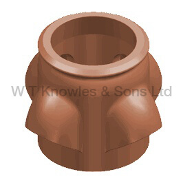 Pocket Beehive pot - Clay Chimney pots