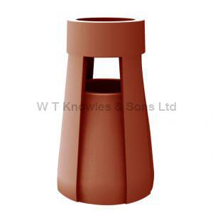 Edwardian Pot - Clay Chimney Pot