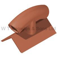 Ridge ventilator - Clay products illustration
