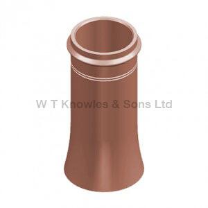 Ringed Top Cannon head Pot digital illustration - Clay Chimney pots